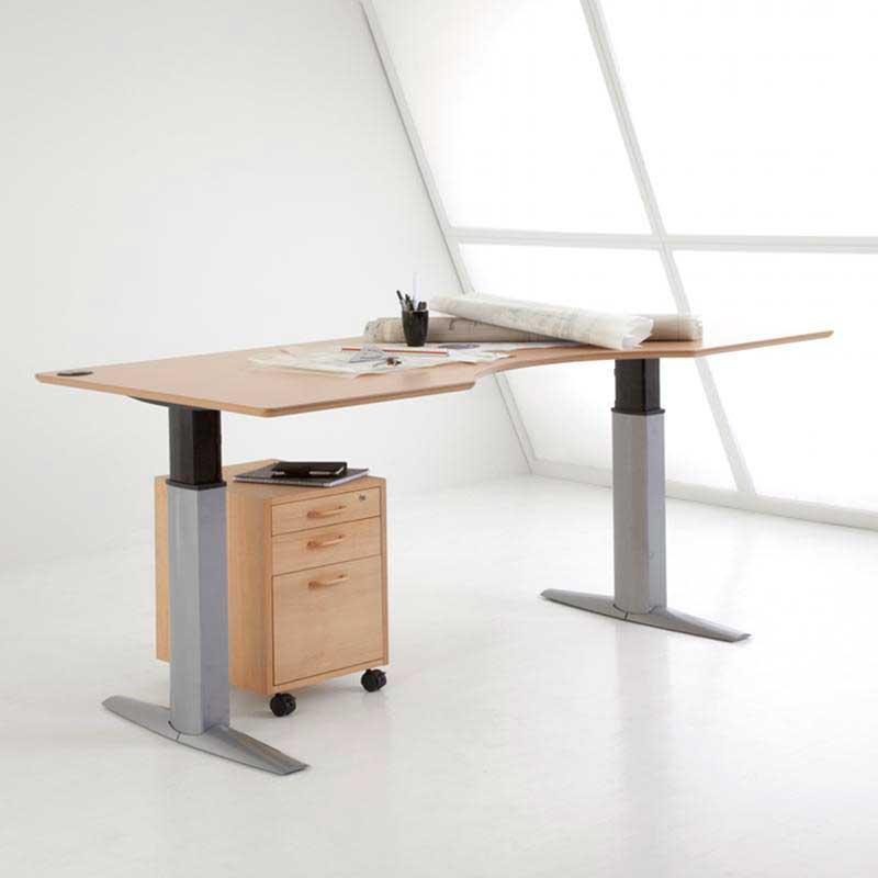 столы с подъемным механизмом